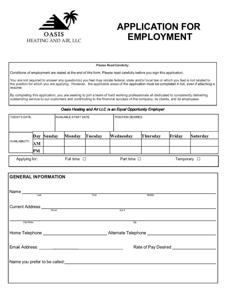 careers form